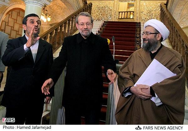 اصرار دوباره احمدینژاد بر برکناری سران قوا