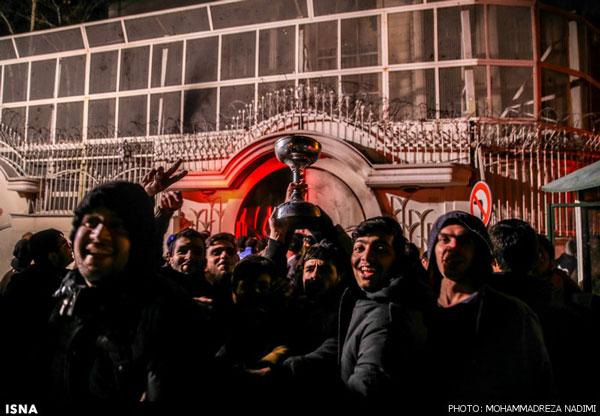 سه تا شش ماه حبس برای حملهکنندگان به سفارت عربستان