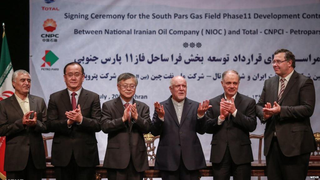 دفاع وزیر نفت از توتال: حرف غلط میزنند