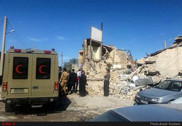 «ویرانی کامل یک بیمارستان با تمام بیمارهایش در زلزله»
