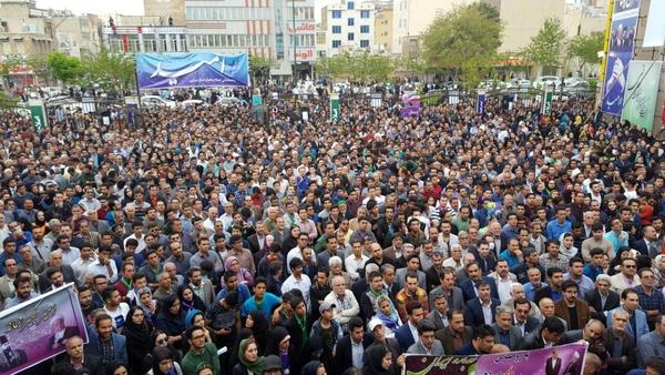 بازداشت جمعی از فعالان ستاد روحانی در اراک