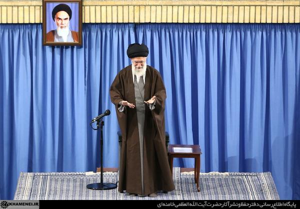 حمایت تلویحی رهبری از شعارهای رئیسی و قالیباف و حمله به روحانی
