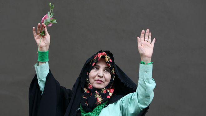 زهرا رهنورد به شمخانی: ۷ سال است یک زن در بند است
