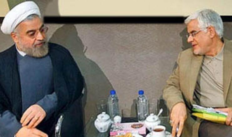 دیدار روحانی و عارف برای کابینه دولت دوازدهم