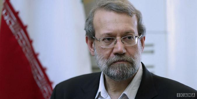 لاریجانی: هیچ اضطرابی در مسوولین ایران وجود ندارد