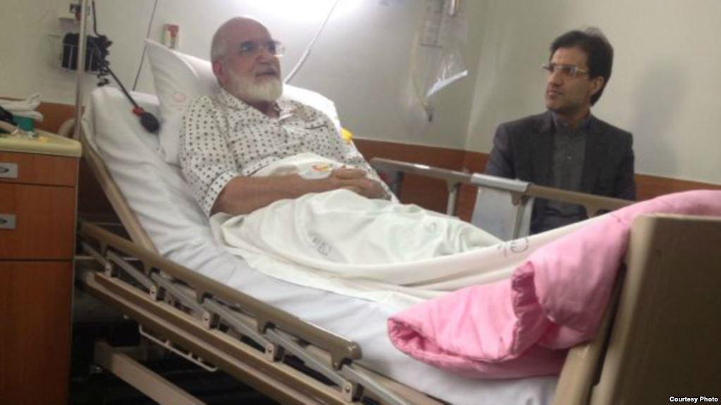کروبی در انتظار تشخیص پزشکان برای جراحی قلب