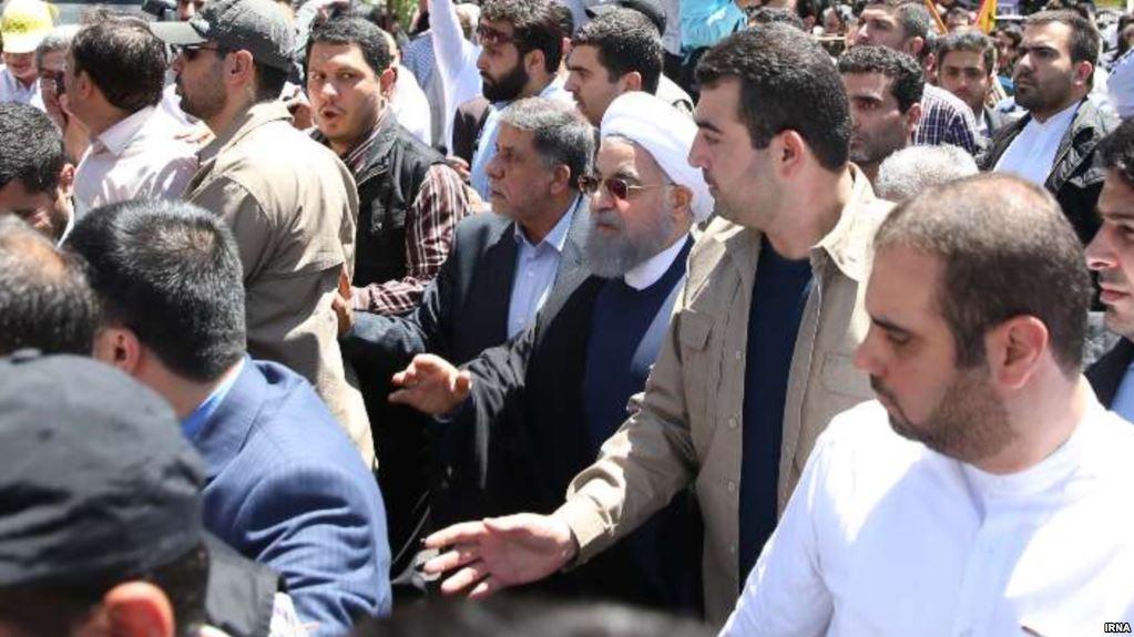 «اطلاعات توهین کنندگان به روحانی تحویل وزارت اطلاعات شد»