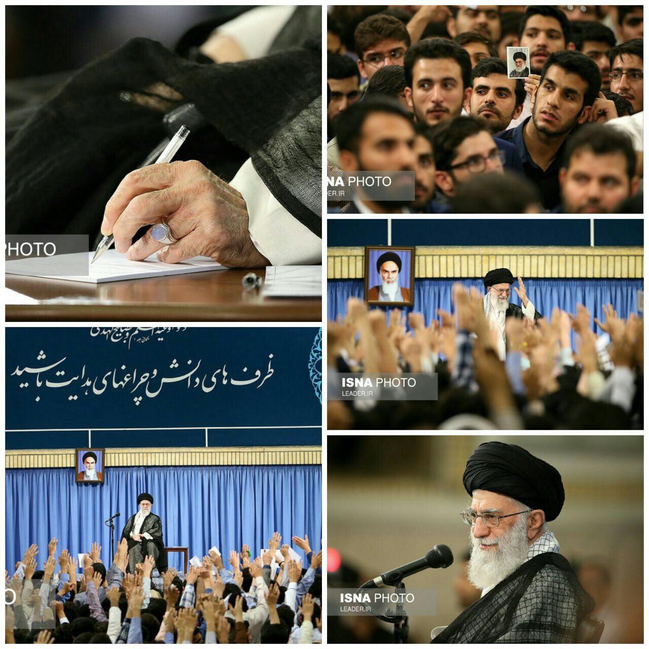 رهبر انقلاب: این ترقهبازیها تأثیری در اراده ملت ایران ندارد